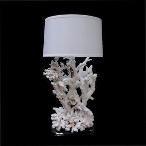 Coral Lamp   White ...