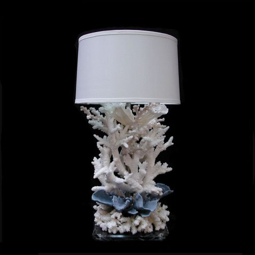 Coral Lamp w/ Blue